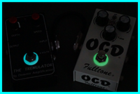 stompbox effects glow in the dark washer