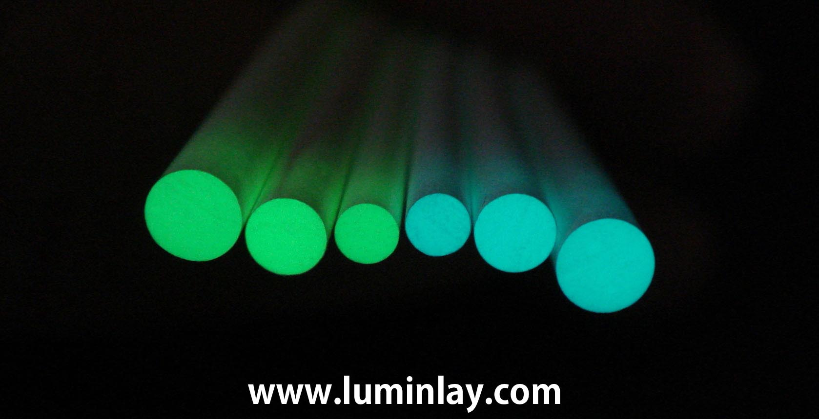 fluorescent lumi luminous side dot glow position mark inlay for guitar and bass