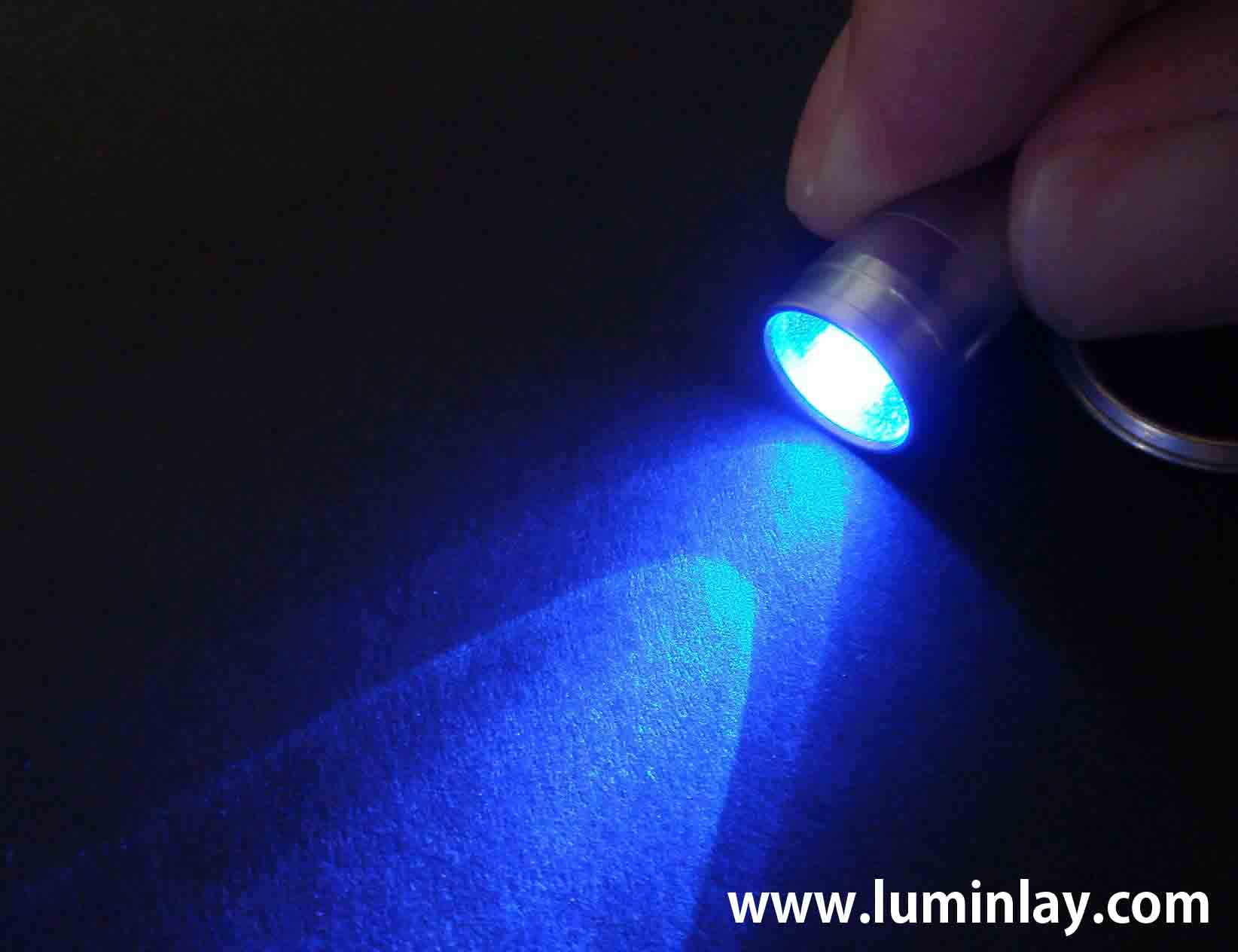 LED_light fluorescent lumi glow position mark inlay for guitar and bass